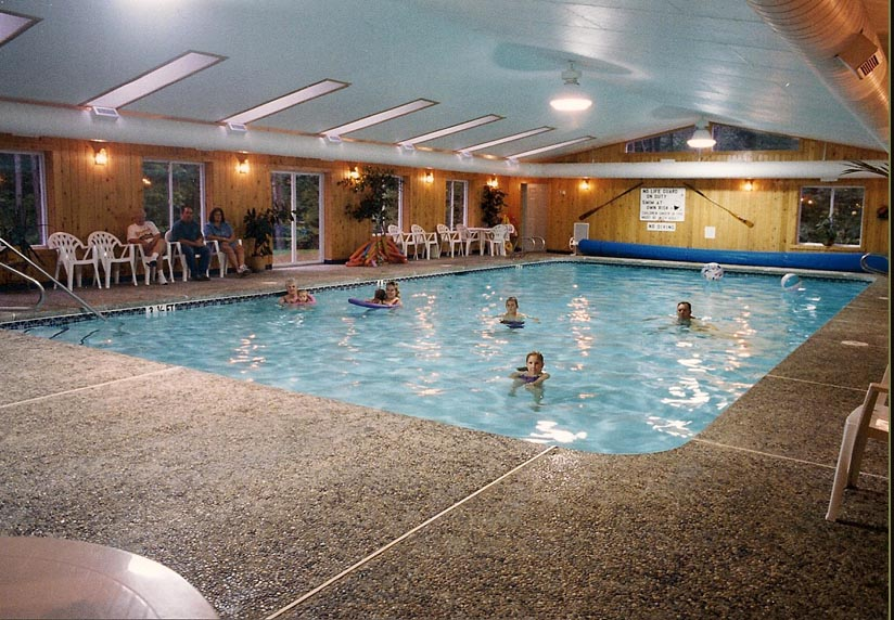 Colonial Mast Indoor Pool And Hot Tub