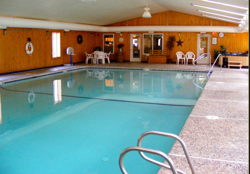 Indoor Pool And Hot Tub With A Slide For Slide Show Image Colonial Mast Indoor Pool And Hot Tub
