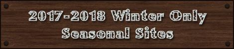 2017 - 2018 winter seasonal sites